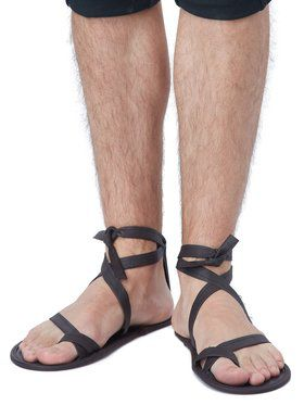 Men's Lace Up Sandals