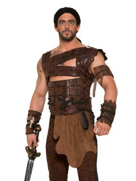 Leather Armor Set For Men