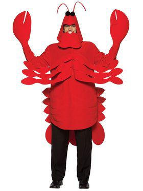Mens Lightweight Lobster Costume