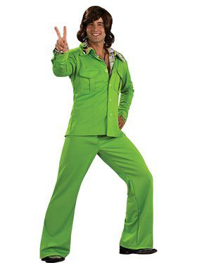 Mens Lime Leisure Suit Costume