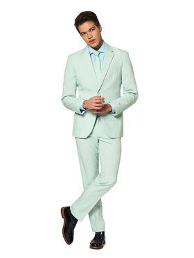 Opposuits Men's Magic Mint Solid Suit