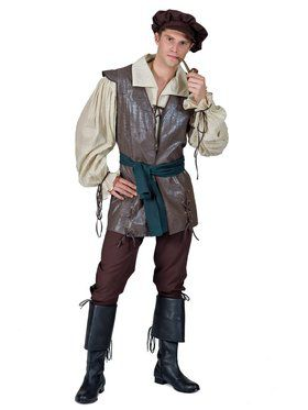Mens Medieval Peasant Costume