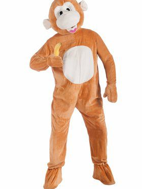 Men's Monkey Mascot Costume