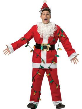 Men's National Lampoon's Christmas Vacation Light-Up Santa Suit