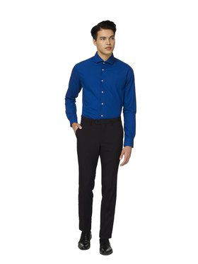 Opposuits Men's Navy Royale Solid Shirt