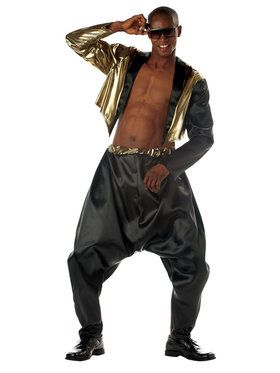Mens Old School Rapper Costume