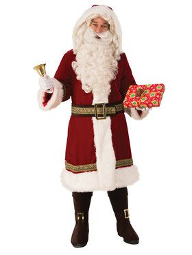 Mens Old Time XL Santa Suit