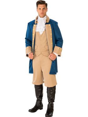 Patriotic Man Costume for Adults