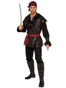 Plundering Pirate Costume For Men