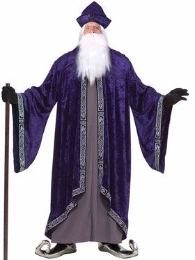Plus Size Grand Wizard Costume For Men