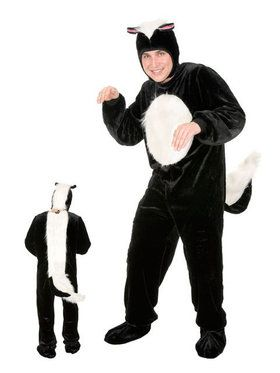 Plus Adult's Skunk Costume