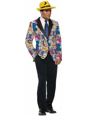 Pop Art Blazer For Men