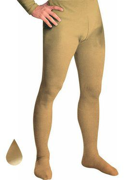 Gold Professional Tights w/ Feet for Men