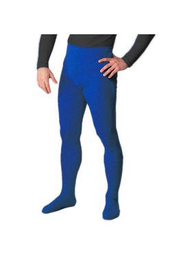 Royal Blue Professional Tights w/ Feet for Men