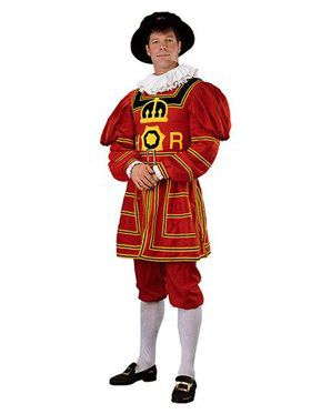 Mens Regency Collection Beefeater Costume