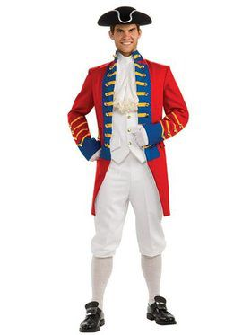 Mens Regency Collection British Redcoat Costume