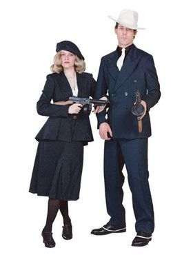 Mens Regency Collection Gangster Suit