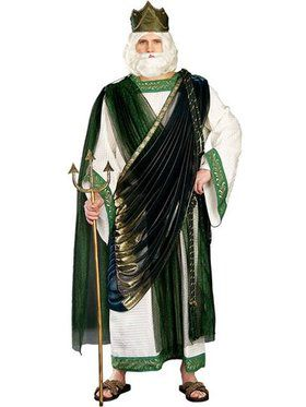 Mens Regency Collection Neptune Costume