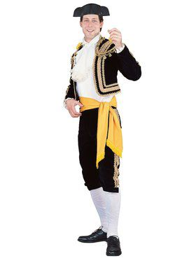 Mens Regency Collection Toreador Bull Fighter Costume