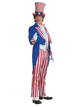 Mens Regency Collection Uncle Sam Costume