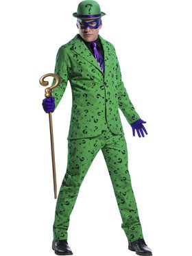 Riddler Men's Costume