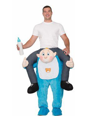 Riding Baby Adult Costume