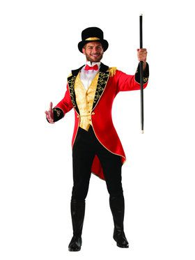 Adult Ring Master Circus Costume
