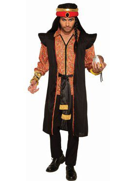 Men's Robe, Tunic And Turban Adult Costume