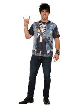 Rocker Dude Mens Shirt