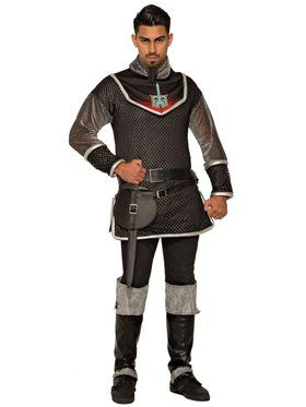 Mens Evil Rogue Prince Costume