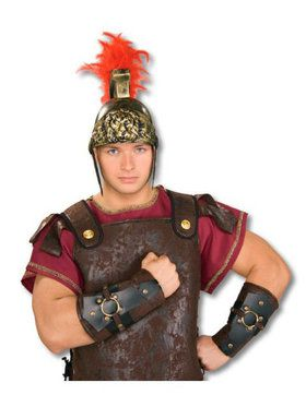 Mens Roman Arm Guards