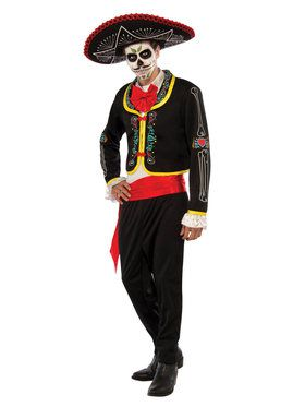 Senor Muerto Mens Costume