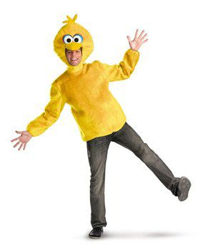 Mens Sesame Street Big Bird Costume