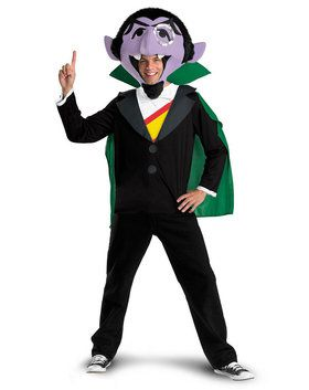 Mens Sesame Street the Count Costume