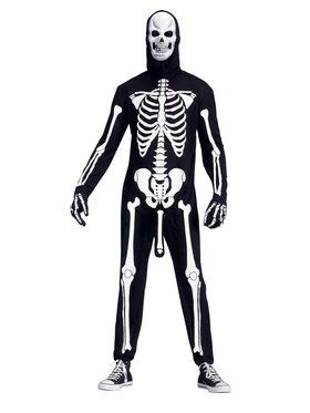 Men's Skele-boner Costume