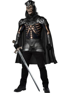 Skull King Mens Costume