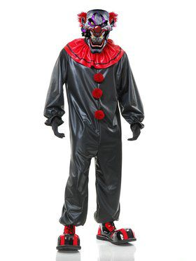 Adult's Smokin' Joe the Evil Clown Costume