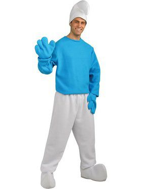 Mens Smurf Costume