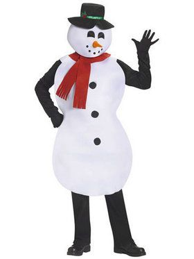 Mens Snowman Tunic Costume