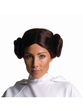 Mens Star Wars Princess Leia Wig