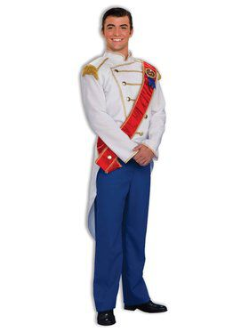 Mens Storybook Prince Charming Costume