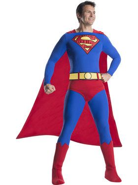 Superman Mens Costume