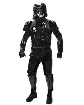 Mens Supreme Star Wars Black Shadow Trooper Costume