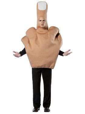 Men's the Finger Costume