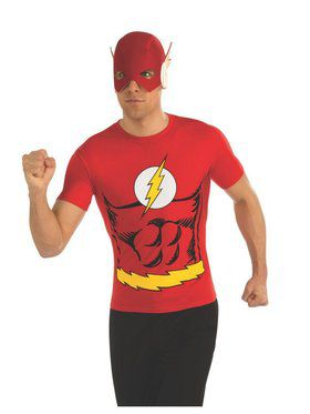 Mens The Flash Costume Top