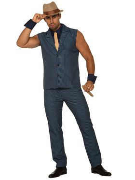 Mens Gangster Tony Costume
