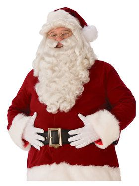 Ultra Premium Santa Wig and Beard Set