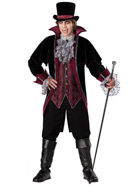 Mens Vampire of Versailles Costume