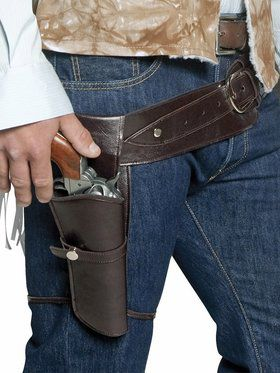 Men's Western Gunman Holster and Belt
