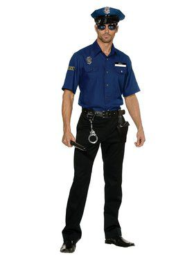 Mens You Are Busted Policeman Costume